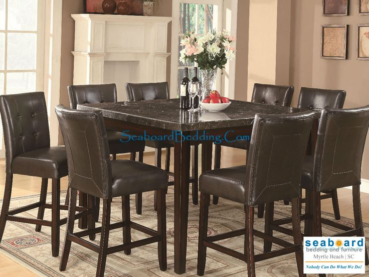 The Milton Counter Height Dining Collection By Coaster Furniture Is A Great Addition To Any Home