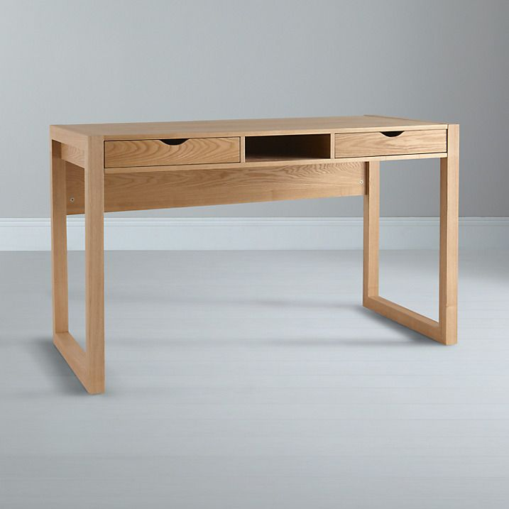 Buy John Lewis Logan Desk, Ash Online at johnlewis.com