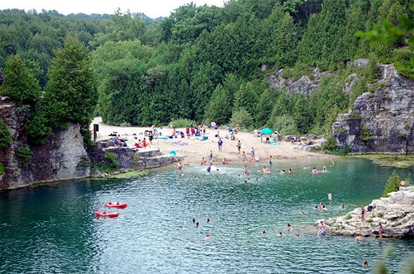 The top quarries and swimming holes near Toronto offer the ultimate summer cool-down experience. A day at the beach is great, but the novelty of swimming in a massive human-made pit is worth shaking up the routine once in a while, and it's perhaps even more interesting when a swimming...