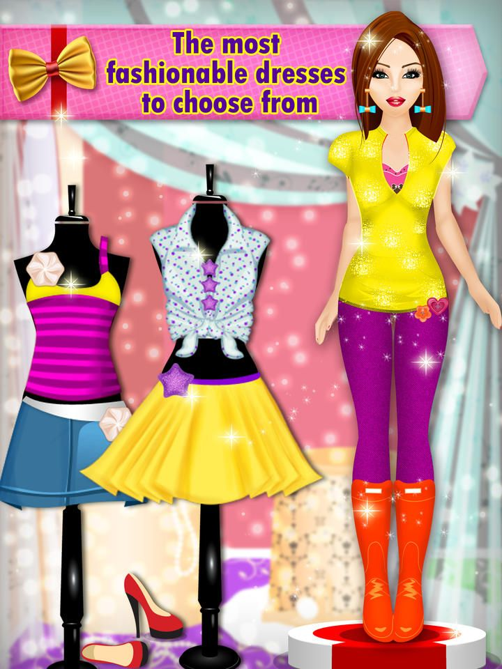 Dress up makeup hairstyle games