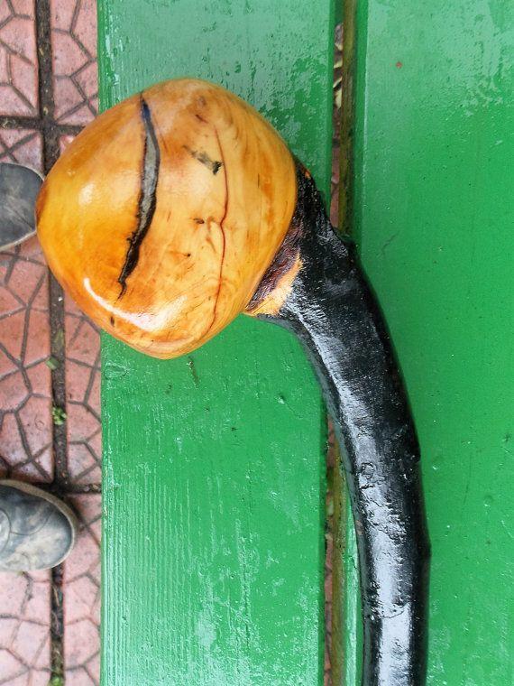 Blackthorn Shillelagh walking stick by DalaighCrafts on Etsy