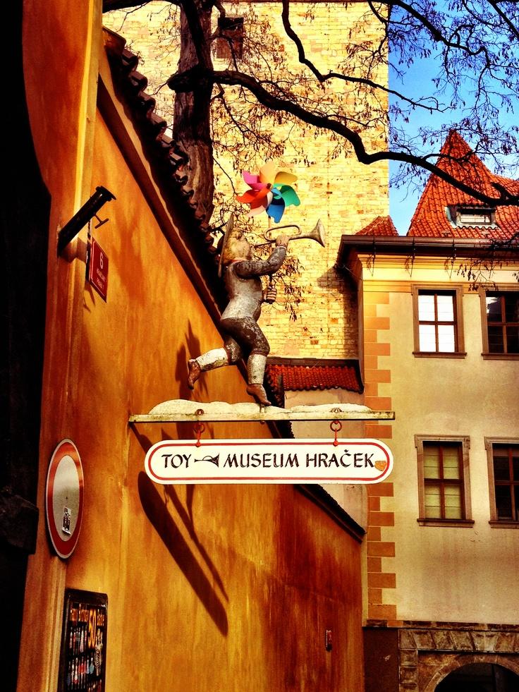 Toy museum in Prague