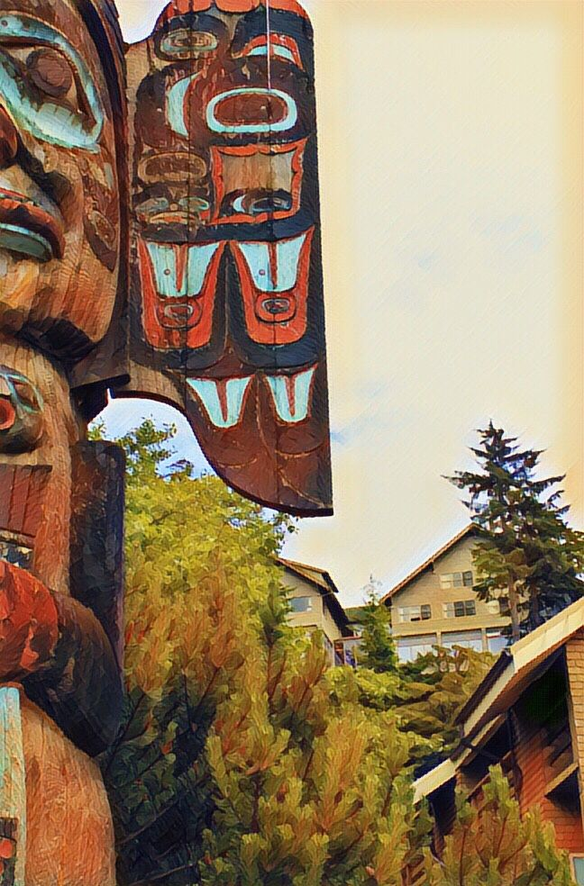 Alaska - loved the totem poles - love Alaska ❤️