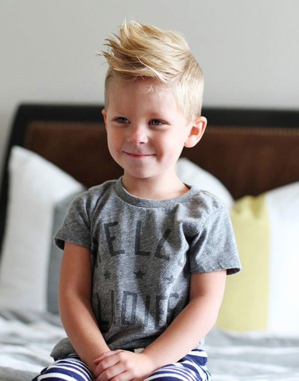 Too cute. I want to remember this when Wyatt grows more hair :)