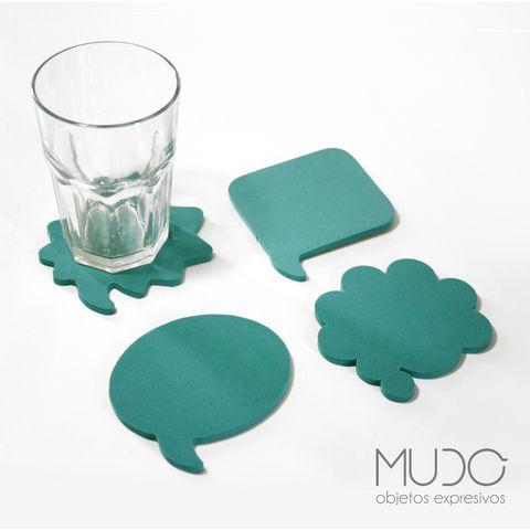 Pack de Posavasos // COMIC — MUDO Objetos Expresivos // Objetos de diseño