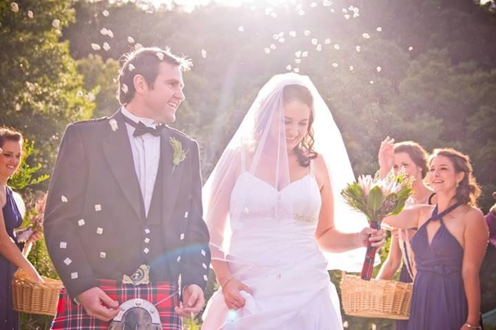 Taneale Mcfarlane's  Beautiful Scottish Wedding Assegaaibosch Country Lodge May
