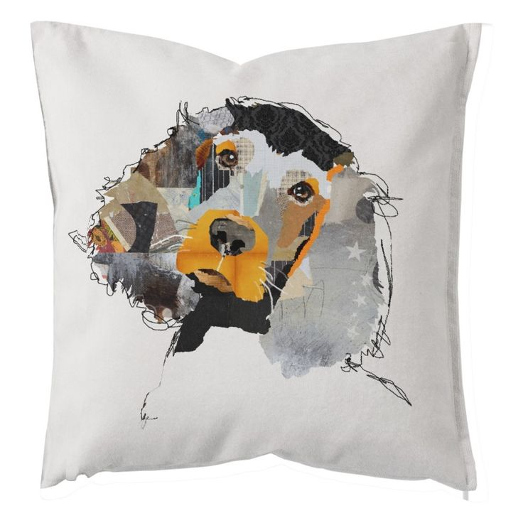 "Decorative pillow cushion design ""Hound"""