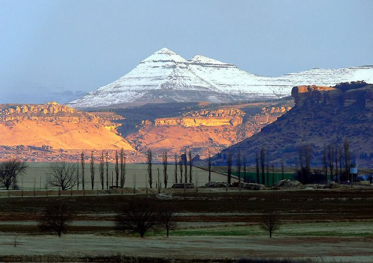 Near Clarens. BelAfrique your personal travel planner - www.BelAfrique.com