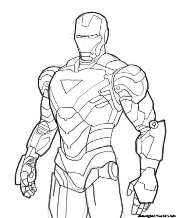 Coloring Page Iron Man Hd Avengers Coloring Pages Superhero Coloring Pages Avengers Coloring