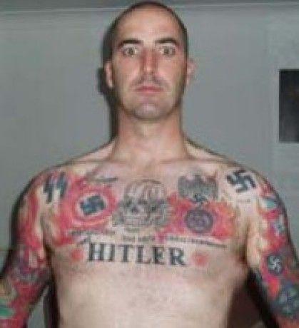 hitler tattoo   419 460 14ss88 pinterest