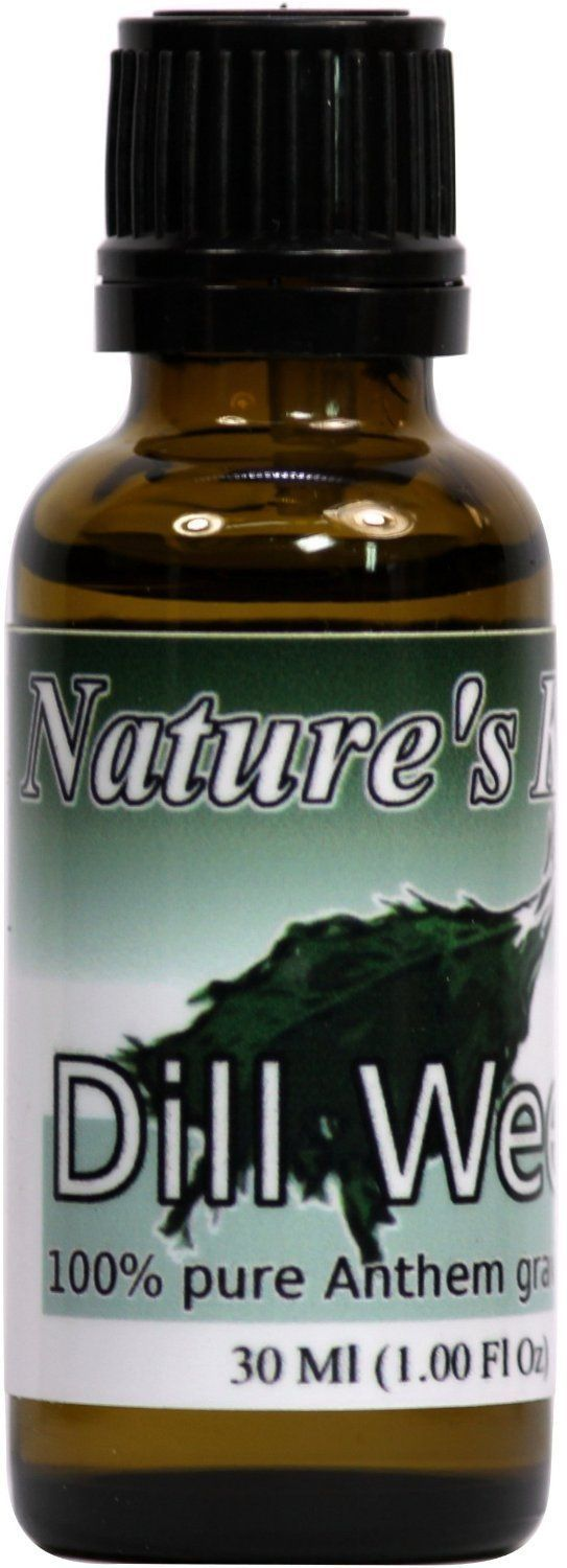 Nature's Kiss 100-Percent Pure Therapeutic Grade Essential Oil, 30ml, Dill Weed >>> You can get more details here   aromatherapy essential oils