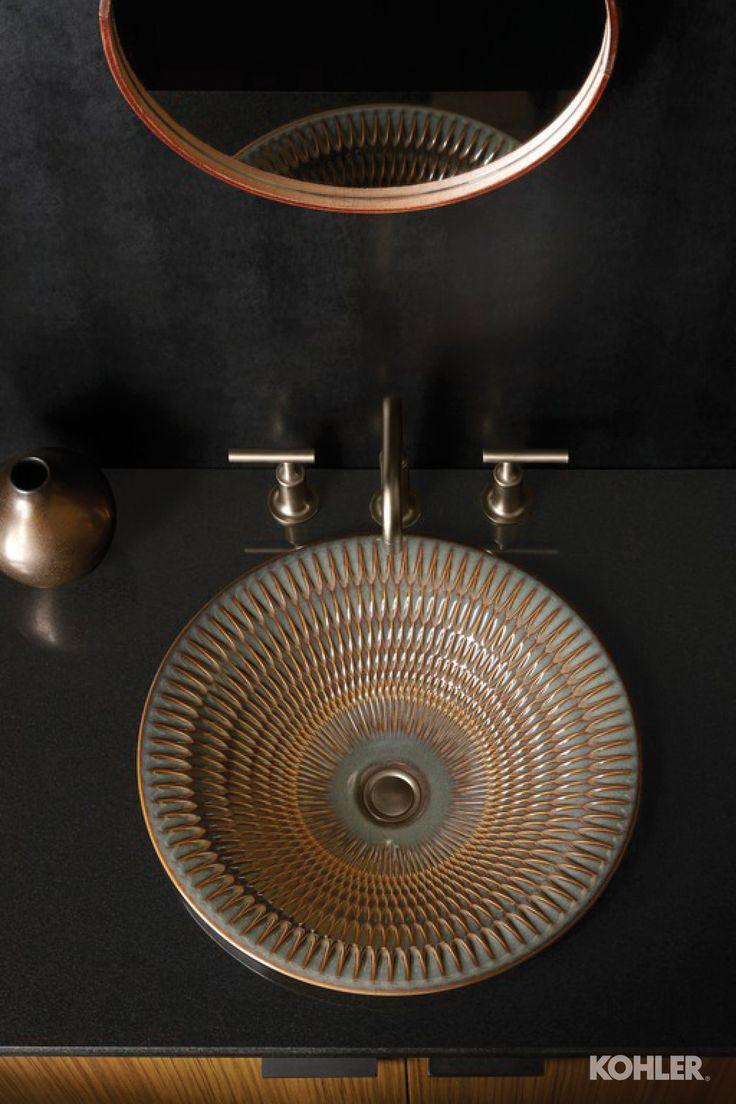 Best Bourbon Textured Bathroom Images Onbronze
