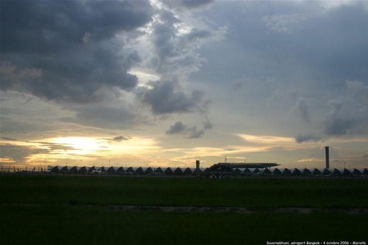 Bangkok : métro de l'aéroport au centre... Airport Rail Link