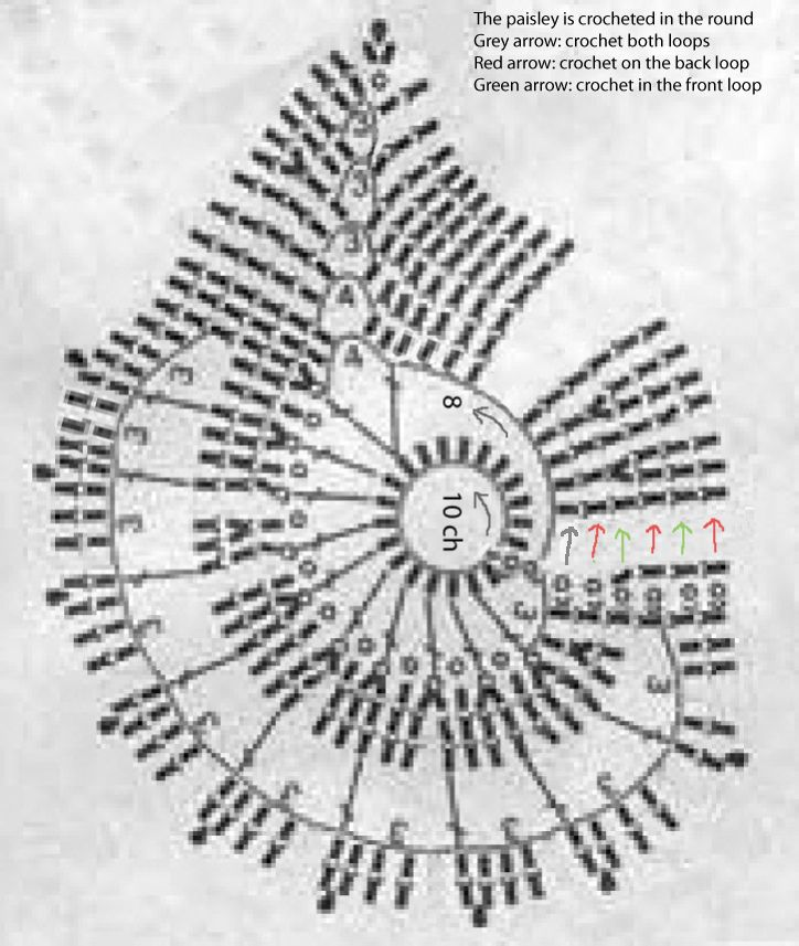12. Duplet 99 Paisley 4 Chart Altered   por hykevandermeer