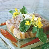 Recept - Terrine van gerookte paling in kerriegelei - Allerhande