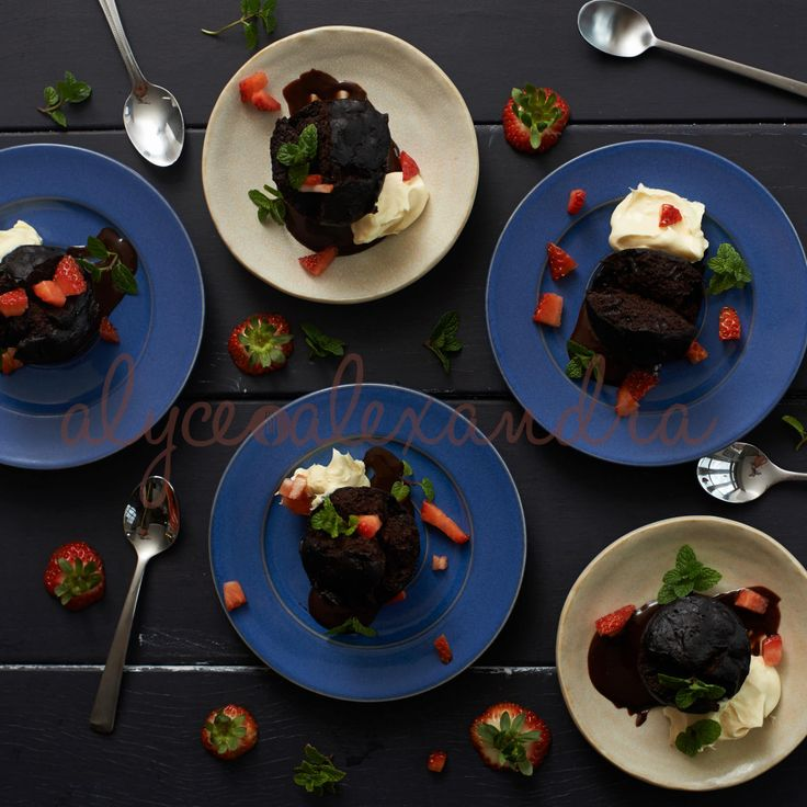 Steamed Chocolate Puddings