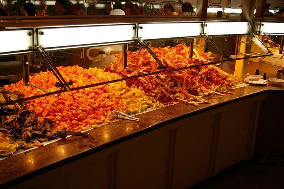 Best Seafood Buffets in Las Vegas