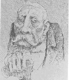Caricatura de Porfirio Dìaz