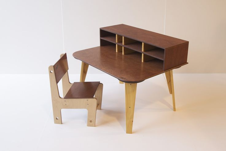 Wooden writing desk - available at www.hebe.kiwi.nz