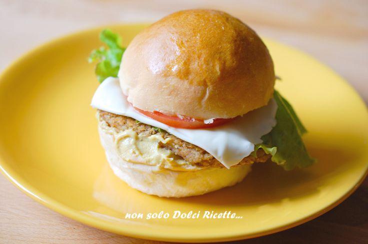 Burger di legumi e cereali #veganburger #burger #cereali #senape #legumi #hamburgervegani