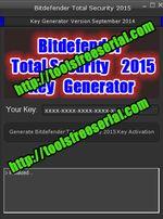 Bitdefender Total Security 2015 free Key Generator http://toolsfreeserial.com/bitdefender-2015-total-security-2015/