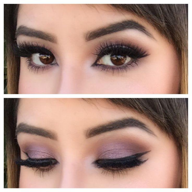 Purple smoky eye using Morphe palette in 35T