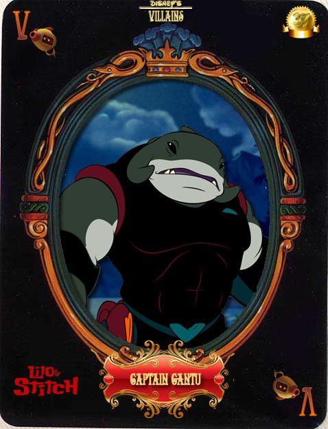DV Card 37: Captain Gantu by Maleficent84.deviantart.com on @deviantART
