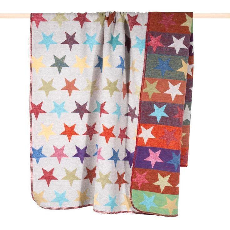 pad Wohndecke bunt, 150x200cm, »Stars Mix« Jetzt bestellen unter: https://moebel.ladendirekt.de/weihnachten/weihnachtsdeko/?uid=211d542b-2128-56f2-bfe5-6ab0b698392b&utm_source=pinterest&utm_medium=pin&utm_campaign=boards #wohndecke #weihnachten #weihnachtsdeko