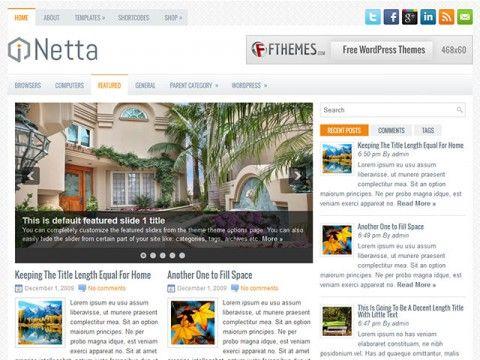 Netta WordPress theme