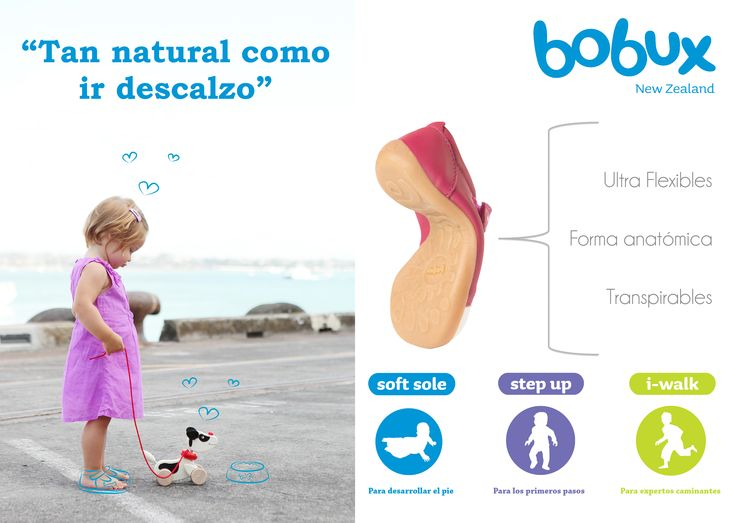 """Tan natural como ir descalzo"" 