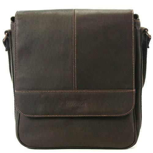 d8f1a20d7 Kenneth Cole Reaction Colombian Leather Single Compartment Flapover Tablet  Case, Brown