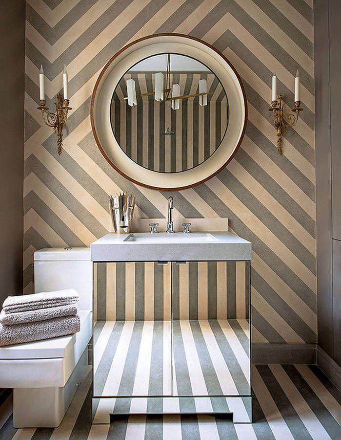 1000 id es sur le th me salle de bains papier peint sur for Salle de bain carrelee jusqu au plafond