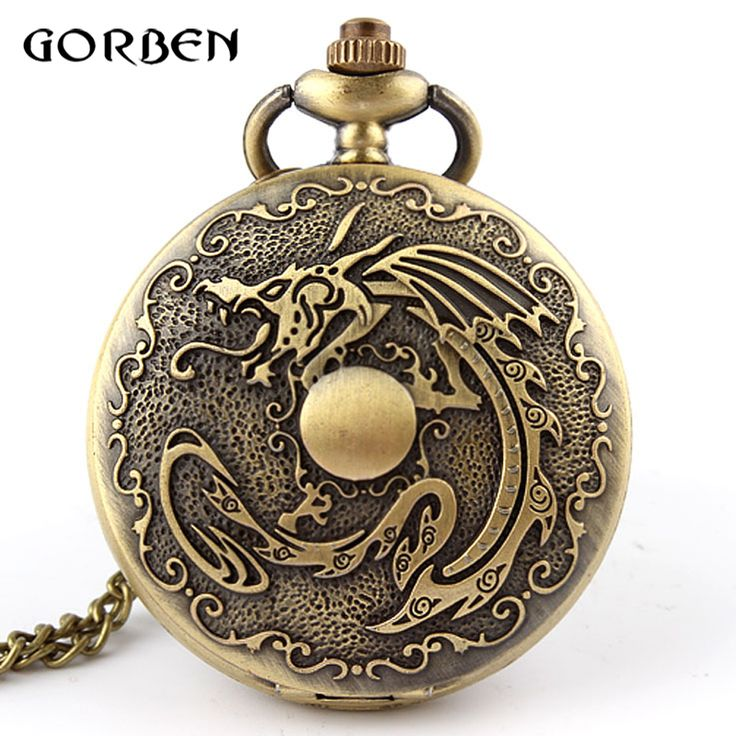 Cheap de bolso, Buy Quality relogio de bolso directly from China watch necklace Suppliers: Bronze Dragon Deadpool fullmetal alchemist Pocket Watch Necklace Chain vintage Quartz pocket Fob watches Men Relogio De Bolso