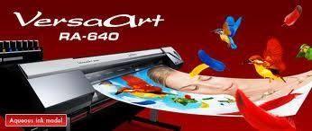 Roland VersaArt RA 640  Tinta Ecosolvent  Aplikasi INDOOR OUTDOOR