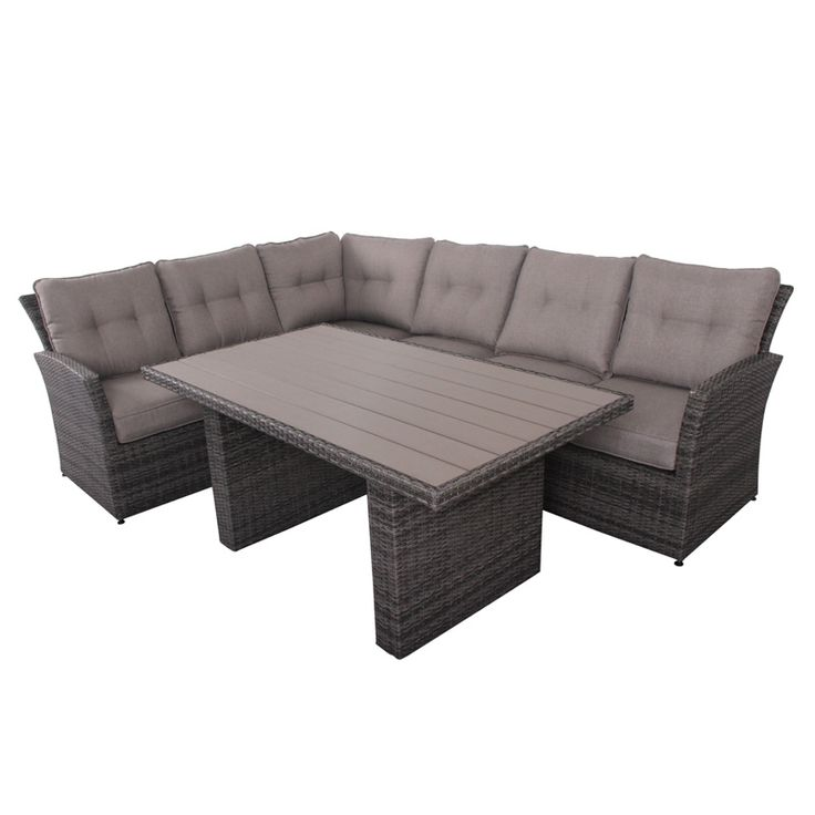 Mallaga spisegruppe fra Krogh Design. Hagemøbler - Outdoor furniture from Krogh Design. God sittekomfort. For mer informasjon og bestilling: www.krogh-design.no/hage/