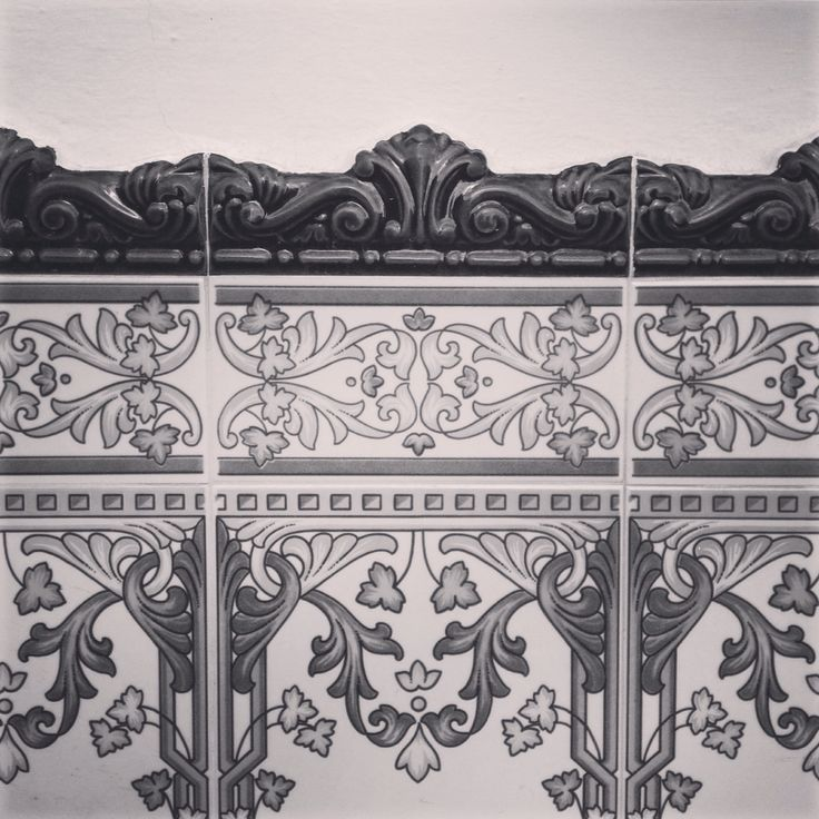 Pretty tiles, Torrox Pueblo, Spain