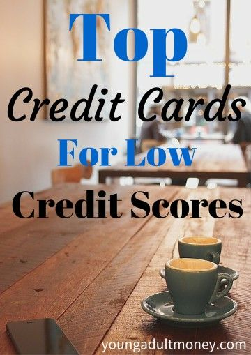 Top Credit Cards for Low Credit Scores