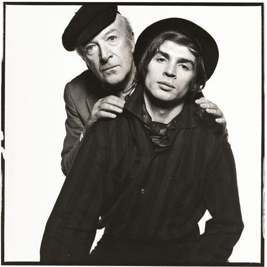 Cecil Beaton & Rudolf Nureyev (1965 - Photographer: David Bailey)