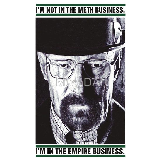 EMPIRE Breaking Bad Available to buy on… T-Shirts, Hoodies, iPhone, iPod Cases, Samsung Galaxy Cases and Stickers #WalterWhite #BBAD