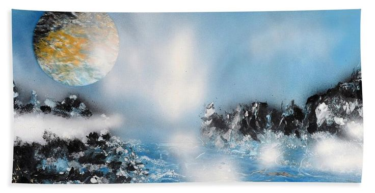 Printed with Fine Art spray painting image Light Rain by Nandor Molnar (When you visit the Shop, change the size, orientation and image size as you wish)