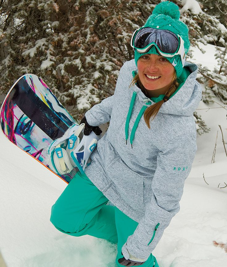 Roxy Women's Valley Hoodie Jacket -- and everything else, as well That  board is beauTful. - 40 Best Snowboarding Images On Pinterest Snowboarding Outfit