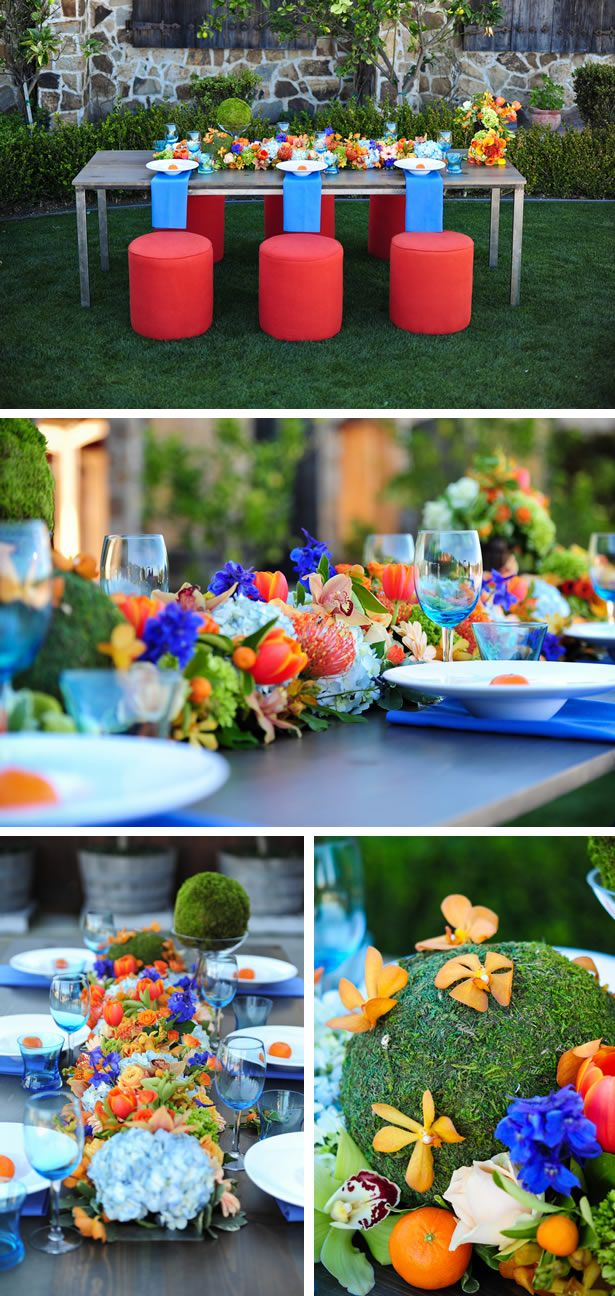 wedding ideas orange 1000 ideas about blue orange weddings on blue 28275