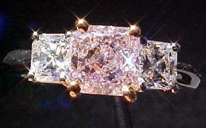 Purple Diamond Ring Images