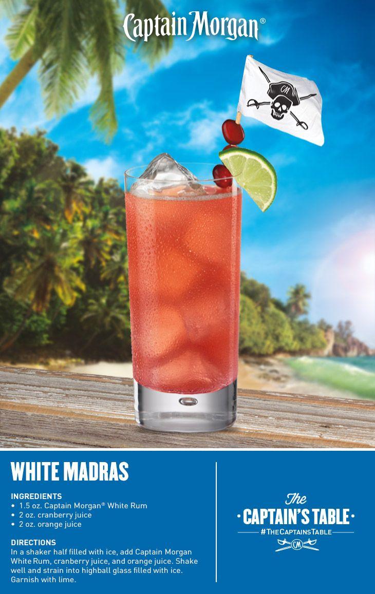 White Madras: A crisp crowd-pleasing Spring cocktail!