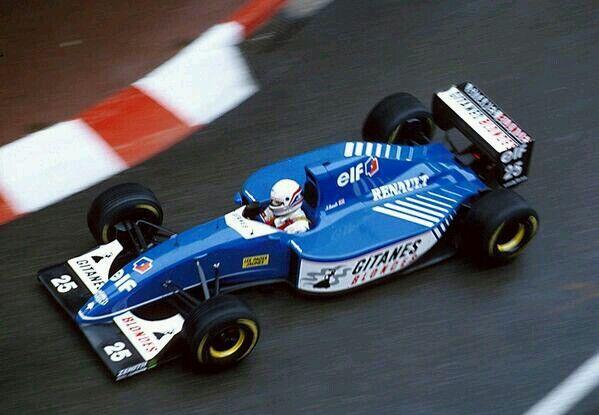 Martin Brundle, Monaco GP, 1993.