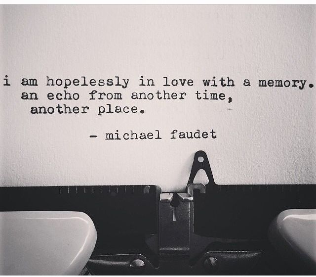 Michael Faudet. For some reason this makes me think of the 4400... I miss that show!