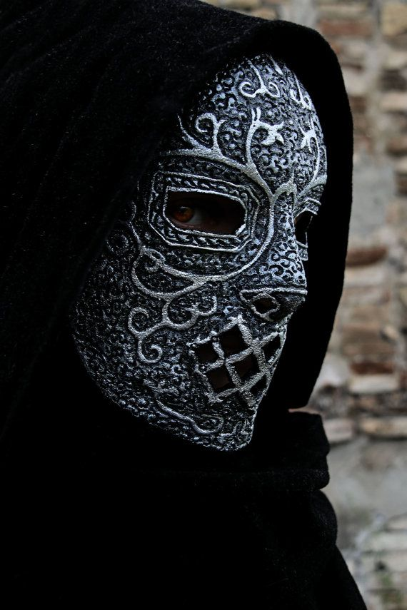 MADE TO ORDER – Death Eaters mask potter harry cosplay lord voldemort slytherin Lucius Draco Malfoy Bellatrix Lestrange Severus Snape