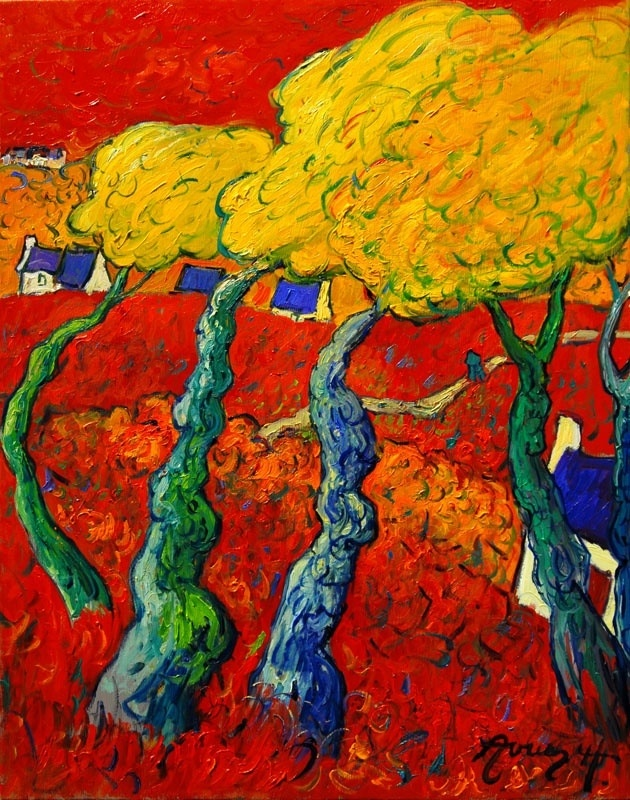 Paul Sérusier was a French painter who was a pioneer of abstract art and an inspiration for the avant-garde Nabi movement, Synthetism and Cloisonnism.