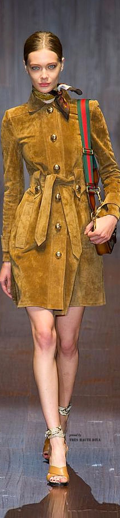 Gucci Spring Summer 2015 | The House of Beccaria~