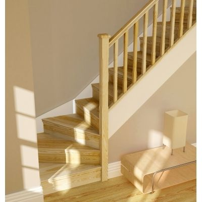 Pine Spindles   Stair Parts   TheHeritageCollection.co.uk